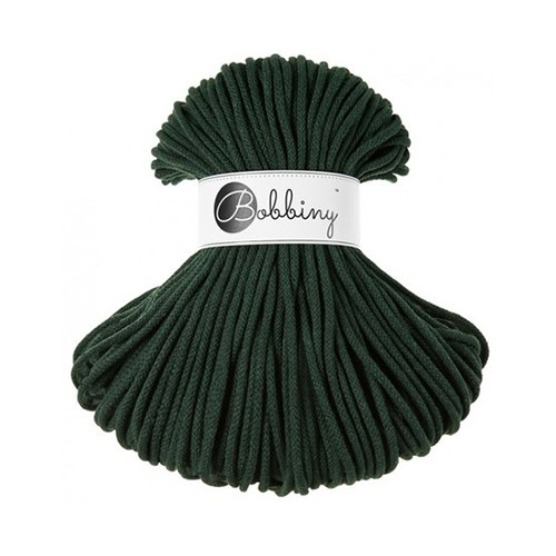 Bobbiny katoenkoord Premium 5mm Forest Green