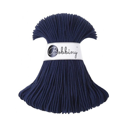 Bobbiny katoenkoord Junior 3mm Navy Blue
