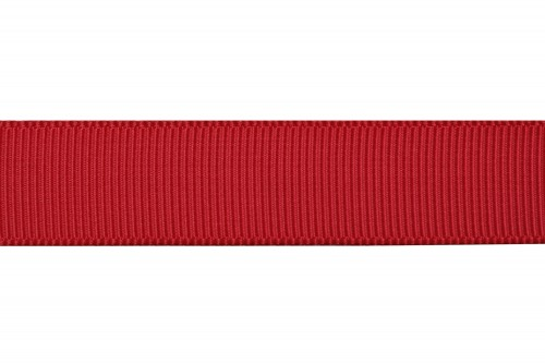 Grosgrain lint 16mm rood